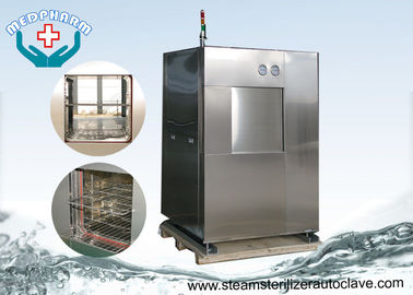 Cina Double Sliding Doors Pharmaceutical Autoclave Dengan Built In Printer Dan Micro Computer pemasok