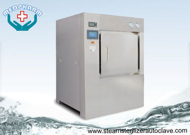 Cina Steam Sterilizer Steam Massal Laboratorium Autoclave 304 Stainless Steel Chamber dan Jaket pemasok