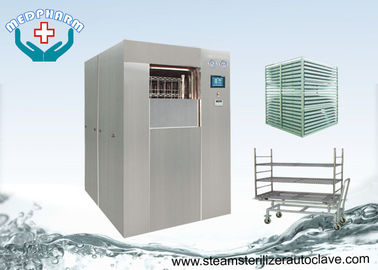 Cina Laboratorium Pra Vakum dan Post Vacuum Double Door Autoclave For Life Science pemasok