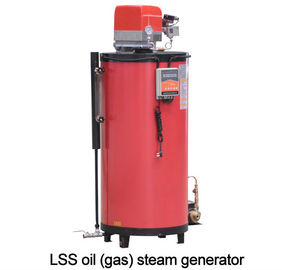 LSS Oil Gas Industrial Steam Generator Small Capacity Built - In Configuration