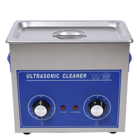 Cina PS Series Compact Mechanical Ultrasonic Cleaner Dengan Tombol, Fungsi Operasi Sederhana pemasok