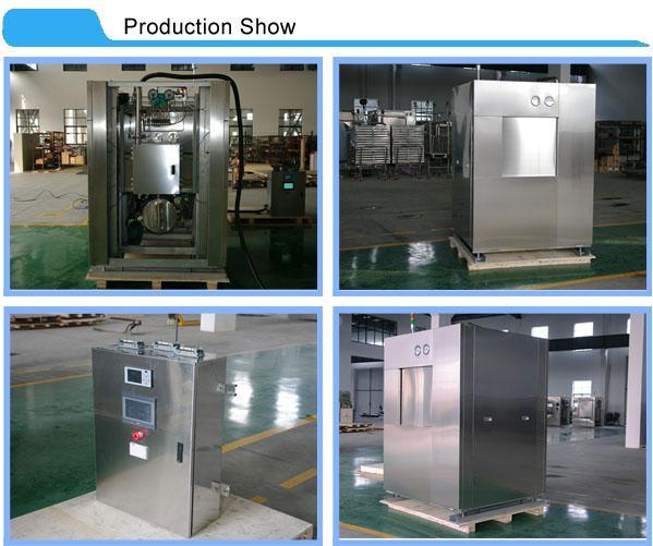 Sterilisasi Steam Sterilisasi Besar Dengan Sistem Aman Pintu